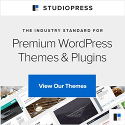 Christmas Gift Guide - Studiopress Genesis WordPress Themes