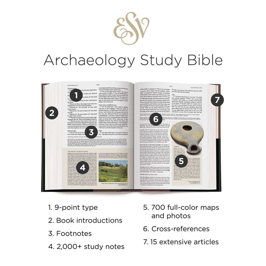 Archaeology Study Bible Features