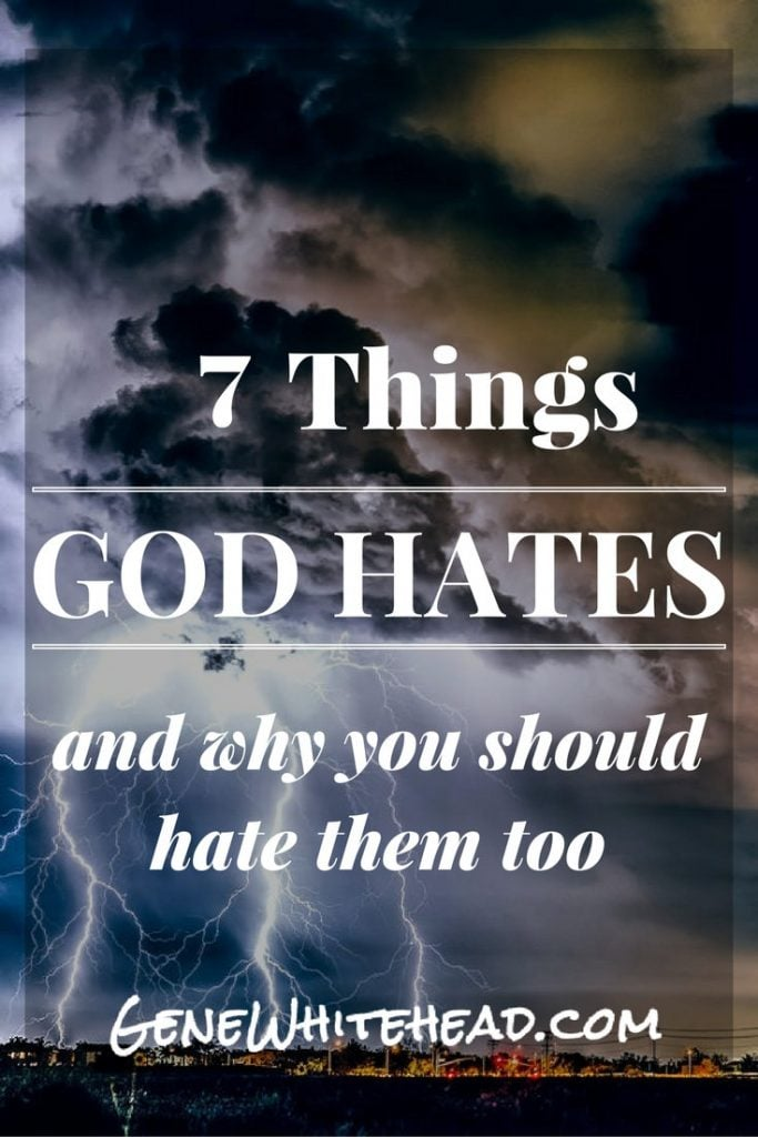 If God hates something, then you and I should too. This article digs deeper into discovering the things God hates, and that is a best practice in the life of a Christian. #faith #Bible #Christian #Proverbs #wisdom
