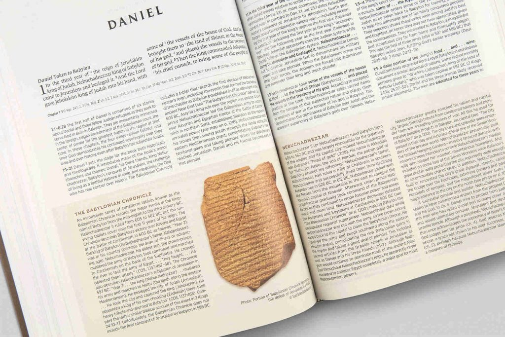 Archaeology Study Bible Daniel