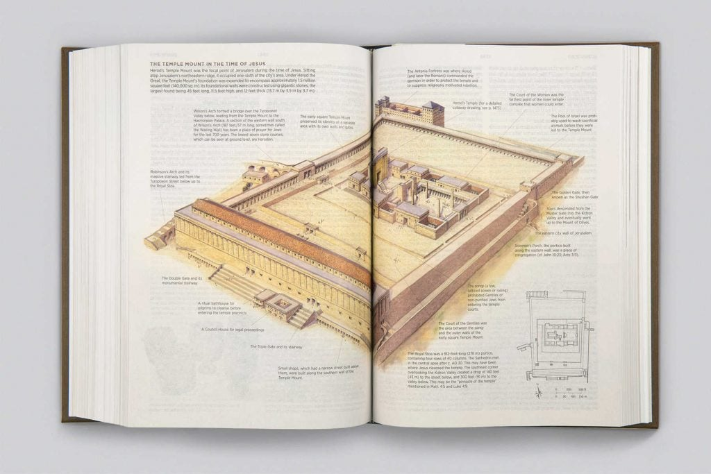 Archaeology Study Bible Tabernacle