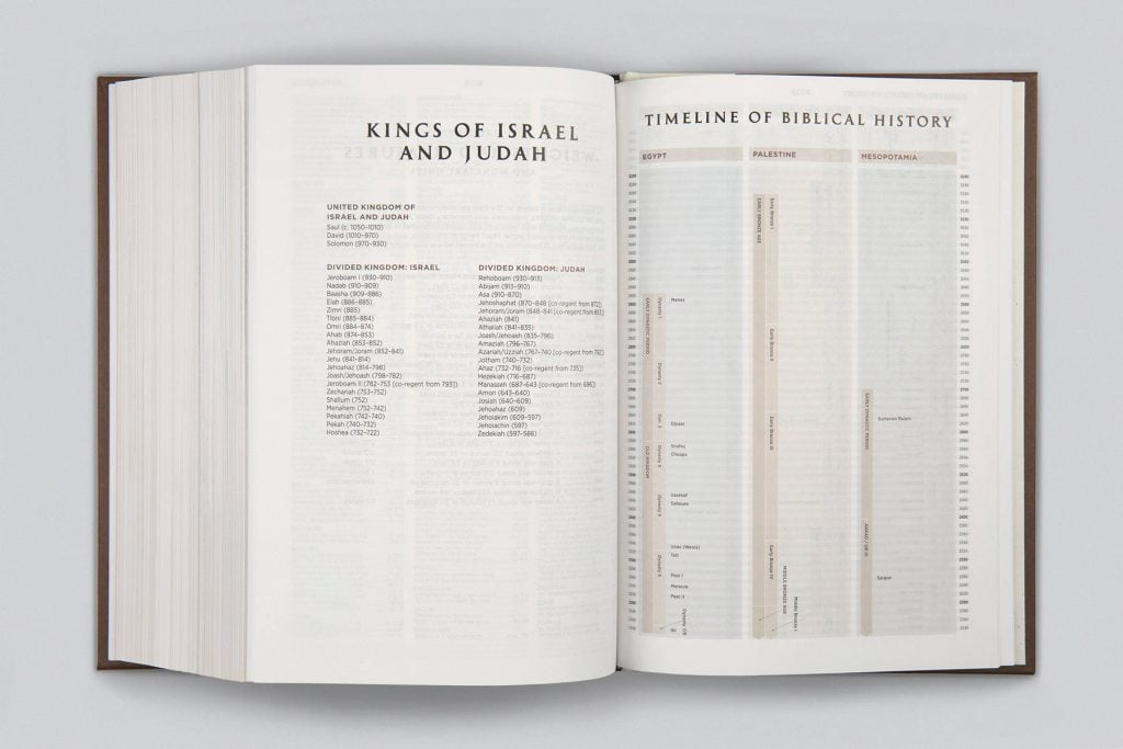 Archaeology Study Bible Timeline