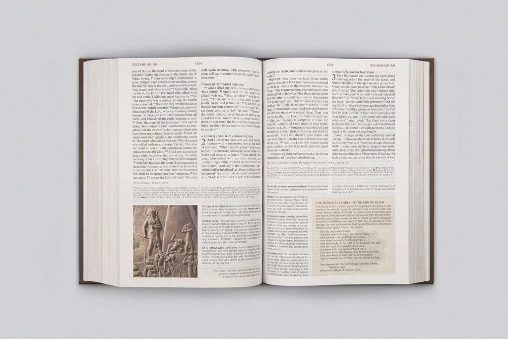 Archaeology Study Bible Zechariah