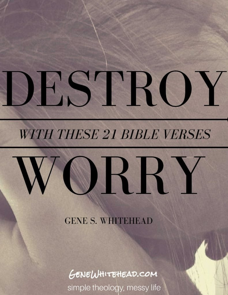 Bible verses for worry