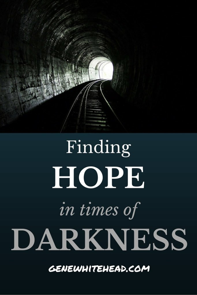 The brokenness and hardships we see every day in our communities weighs heavy on us. Where do you turn to when looking for hope during dark or difficult times?