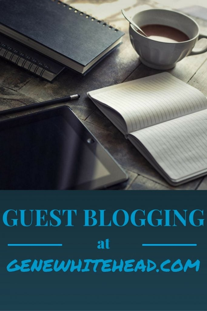 If you're a Christian writer or blogger and you would like to write a guest post, I'd love to hear from you. Here's my guest blogging guide.
