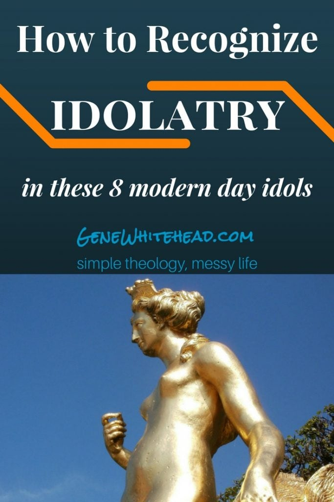 Idolatry isn't an Eastern mysticism or a Western consumerism thing. It's a human thing, and regardless of whether or not we physically bow down before a statue, we all have idols in our lives. Here's 8 modern idols to recognize and how to deal with them. #Faith #Christian #Idolatry