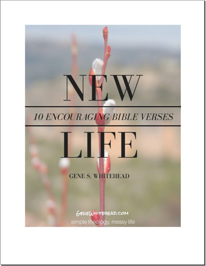 Bible verses on new life