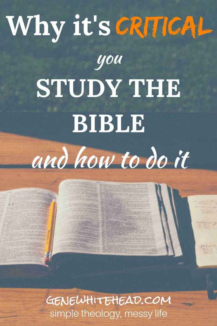 How and why to study the Bible are critical components of faith and the Christian life. Learn more about why Bible study is so important and how you can make it a life-changing habit. #Bible #Faith #Christian #BibleStudy #SimpleTheology #SimpleTheologyMessyLife