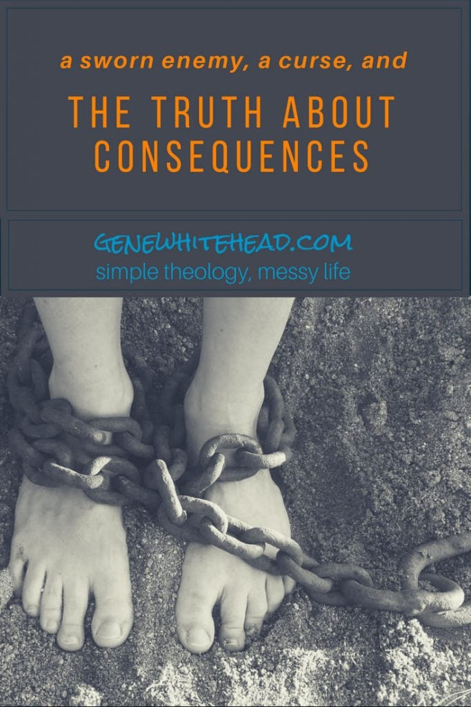More about humankind's enemy, an inherited curse, and the truth about consequences. The truth is we have an enemy that hates our souls, but there's more. There's also the curse of sin and a responsibility to stay in the fight. #consequences #sin #faith