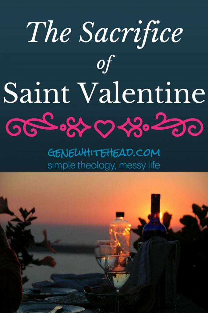 Saint Valentine loved sacrificially. He lived out his faith by standing firm in the shadow of the cross, setting a real example of unconditional, steadfast love. #faith #love #valentinesday