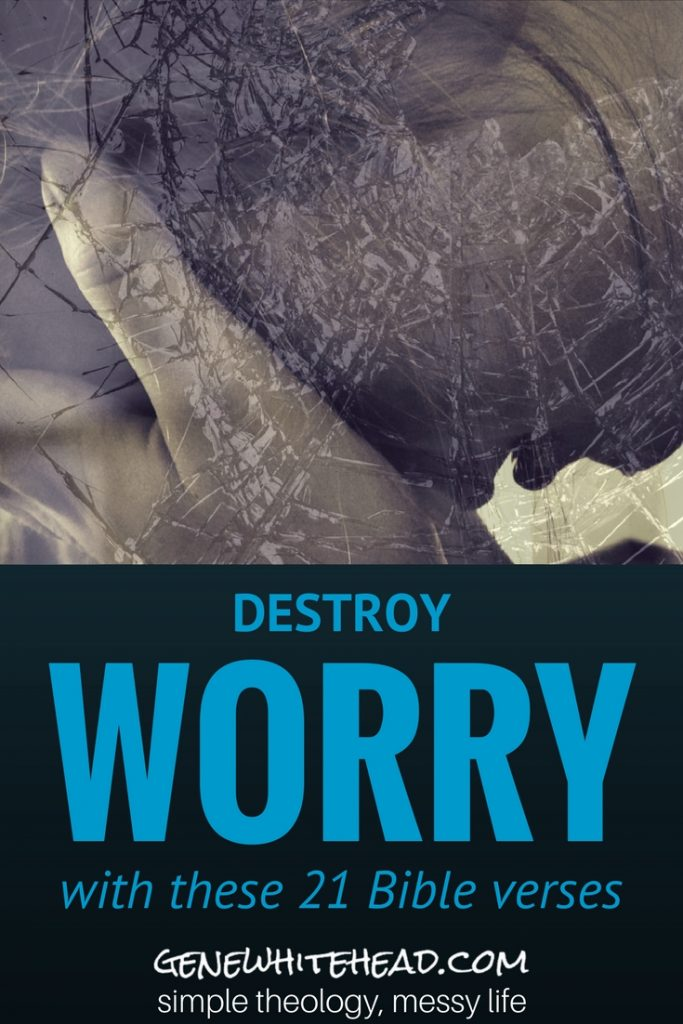 Fear, anxiety and worry happen. How do you deal with the uncontrollable storms of life when they invade your world? Here's what I learned about that and how it can help you, plus a downloadable notebook for you to take with you. #worry #Bible #faith #Christian