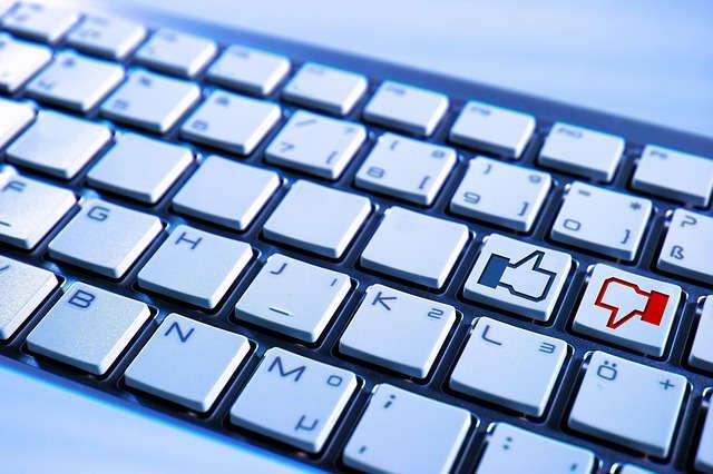 facebook like unlike keyboard