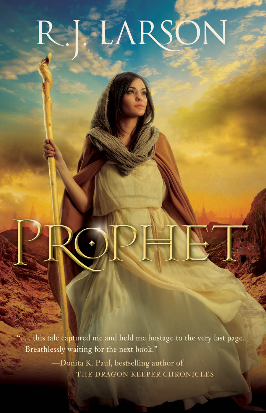 Book review of Prophet by R. J. Larson. Will diplomacy and military might win over the Istgardians, or will they turn back to the Infinite? Will Ela's faith hold out, or will she crumble under all of the pressure of serving as the Infinite's youngest prophet?