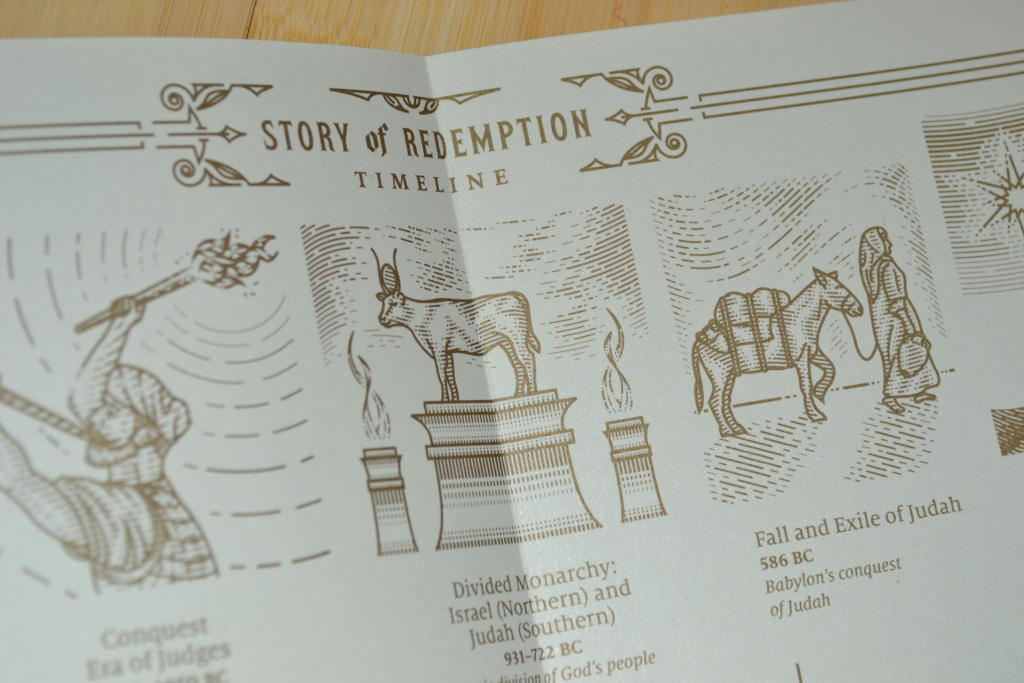 story of redemption bible timeline