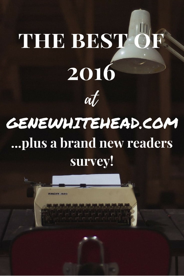 See the top 10 posts from 2016 and a brand new readers survey to help direct the articles, tools, and resources I bring you in 2017.