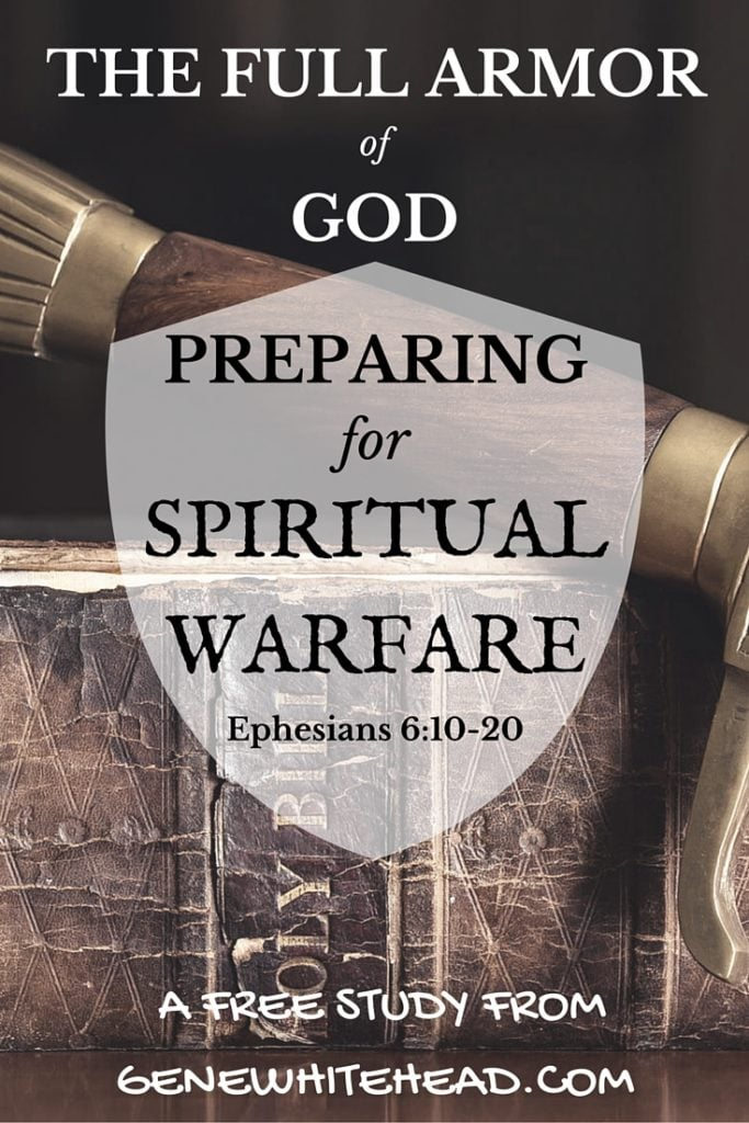 Download your free Bible study eBook, Preparing for Spiritual Warfare: The Full Armor of God when you subscribe to my new posts!