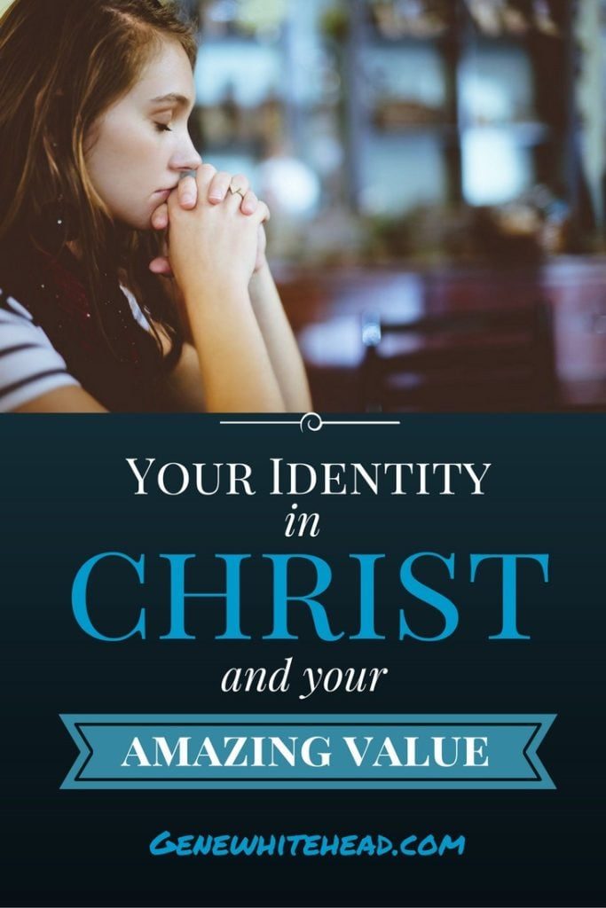 If you are a follower of Jesus, your identity in Christ is everything. How does your identity in Christ relate to self esteem?